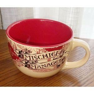 Harry Potter Marauder's Map Coffee Soup Mug